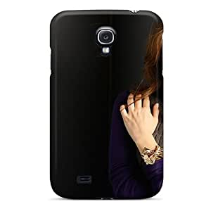 Mialisabblake Galaxy S4 Hybrid Tpu Case Cover Silicon Bumper Emmy Rossum Wide Screen