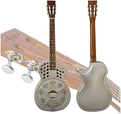 Guitarra de resonador de latón de la marca Aiersi: Amazon.es ...