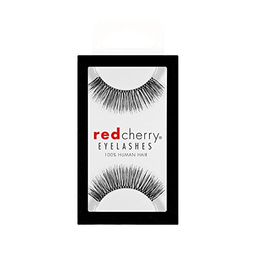 Red Cherry False Eyelashes #82 Black Pack of 3 (Red Cherry - Kim Kardashian's Choice) - Small Red Cherry