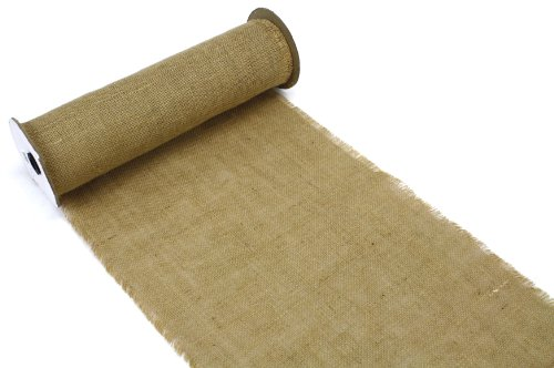 (Kel-Toy Burlap Roll for DIY Table Runners, 14-Inch by 10-Yard,)