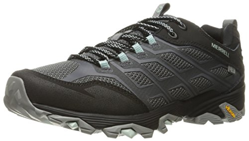 Merrell Women's Moab FST Waterproof Hiking Shoe, Granite, 8 M US by Merrell