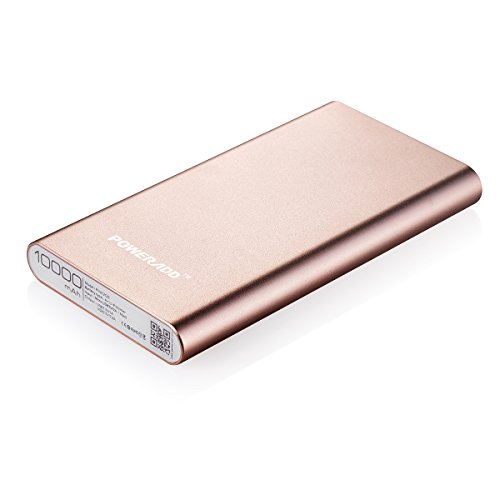 [Upgraded] Poweradd 3.4A Pilot 2GS 10000mAh two times USB lightweight Charger External Battery Pack along with High-Speed demand for iPhone iPad Samsung Galaxy and far more - Gold (Apple Cable Not Included)