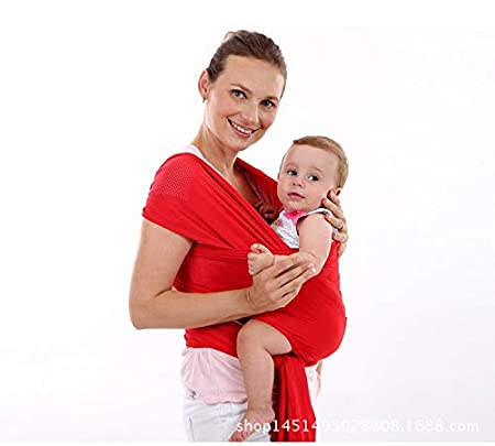 Baby Wrap Carrier Lightweight Comfortable Mesh Baby Carrier For for Infants and Babies Quner