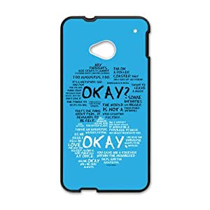 RHGGB The Fault in Our Stars Okay? Okay Printed Cell Phone Case for HTC One M7