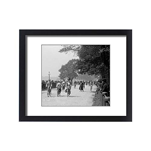 Media Storehouse Framed 20x16 Print of Cycling