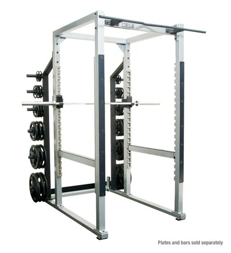 - York Barbell ST Power Rack - White