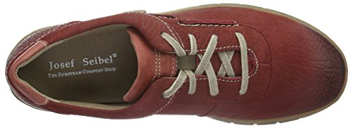 Josef Seibel Steffi Son 07 - Zapatos Mujer Rojo - Rot (Carmin/Nut 211)