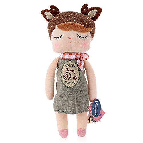 Angela Rabbit Dolls Baby Plush Toy Cute Lovely Stuffed Toys Kids Girls Birthday/Christmas Gift Bike