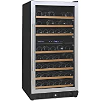 (DR) NFINITY PRO M Dual Zone 94-Bottles Wine Cellar, Wine Cooler w/ Steel Door (S1011)