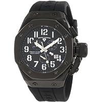 Swiss Legend Men's 10541-BB-01-SA Trimix Diver Chronograph Black Dial Watch