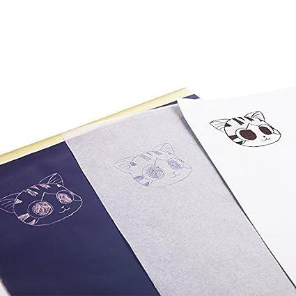 NYKKOLA Tattoo Thermal Stencil Transfer Paper 8.5 X 11 10 Packs