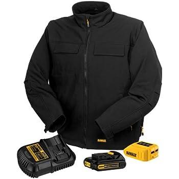 DEWALT DCHJ060C1-2XL 20V/12V MAX Black Heated Jacket Kit, XX-Large