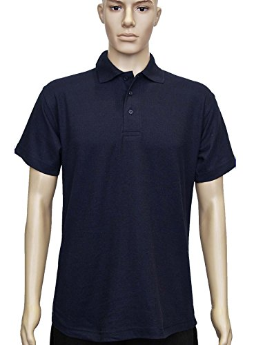 Uneek uc124 poliestere/cotone unisex Olimpico Polo, Colore: Blu navy, XS