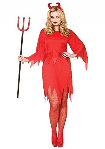 Wicked Devil Women's Costume Evil Halloween Fancy Dress -