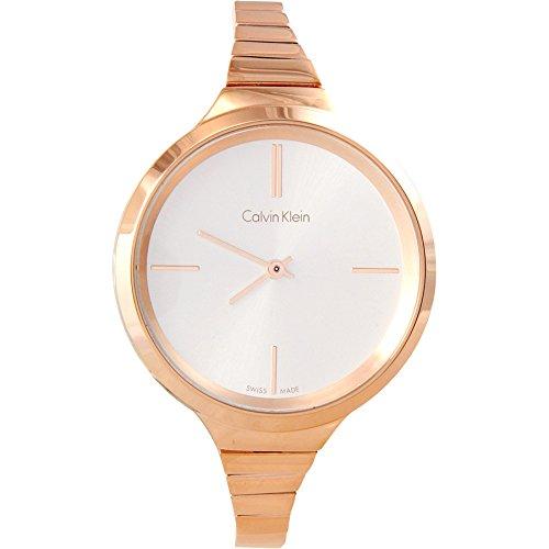 Calvin Klein K4U23626 PVD Rose Gold Bracelet Ladies Watch by Calvin Klein