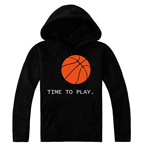 Time To Play. Basketball Women's Hoodie Pullover