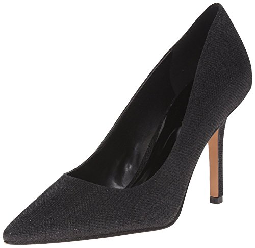Nine West Women's Jackpot Fabric Dress Pump, Black, 42 B(M) EU/9 B(M) UK