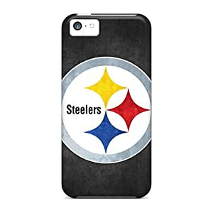 High Impact Dirt/shock Proof Case Cover For Iphone 5c (pittsburgh Steelers 5)