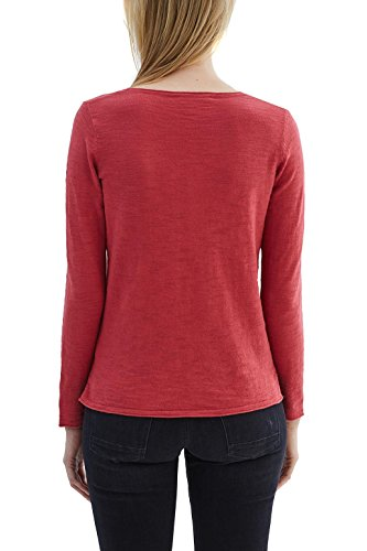 ESPRIT, Suéter para Mujer Multicolor (Cherry Red)