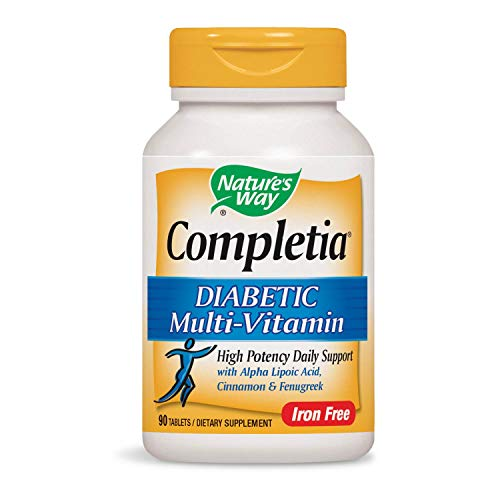 Nature's Way Completia Diabetic Multivitamin (iron-free), 90