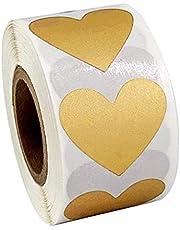 Milageto Sticker-etiketten, 300 stuks, voor knutselwerk, cadeauhangers, voor bruiloften, feesten