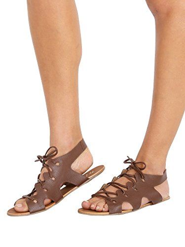 Coconuts by Matisse Quinta Women US 7 Tan Gladiator Sandal