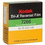 Kodak txr-464tri-x Reversalブラック&ホワイト、サイレントスーパー8、50足カートリッジ、Film # 7266、ISO 200/ 160, # 502–9046、* USA *