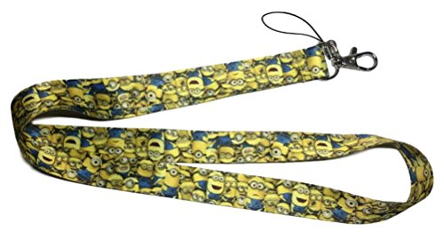 Minions All Over Print LANYARD ID Holder Keychain