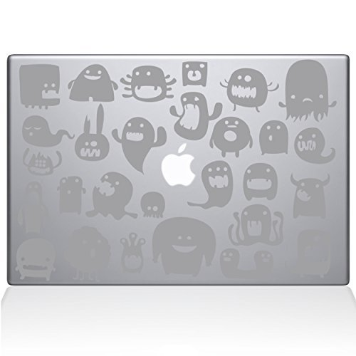 【ラッピング無料】 The Decal Guru Monsters Guru MacBook Decal newer) Vinyl Sticker - (1131-MAC-13X-S) 13 Macbook Pro (2016 & newer) - Silver (1131-MAC-13X-S) [並行輸入品] B078FBRLYB, A.BOMBER:d468eb8f --- a0267596.xsph.ru