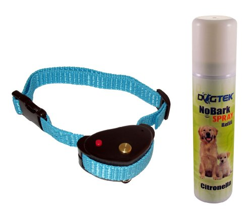 Dogtek NoBark Spray Bark Control Dog Collar, Citronella Scent