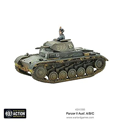 Bolt Action, Warlord Games, Panzer II Ausf. A/B/C …: Toys & Games