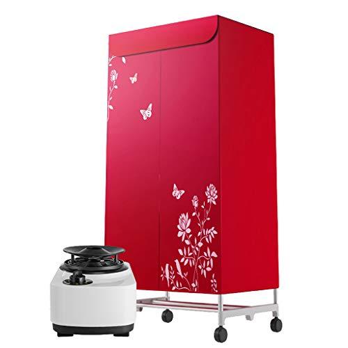 1200W Trockner Home Quick Clothes Wäschetrockner Garderobe Heizung Edelstahl 20KG 2 Schichten 180 Min 360 ° Mit…