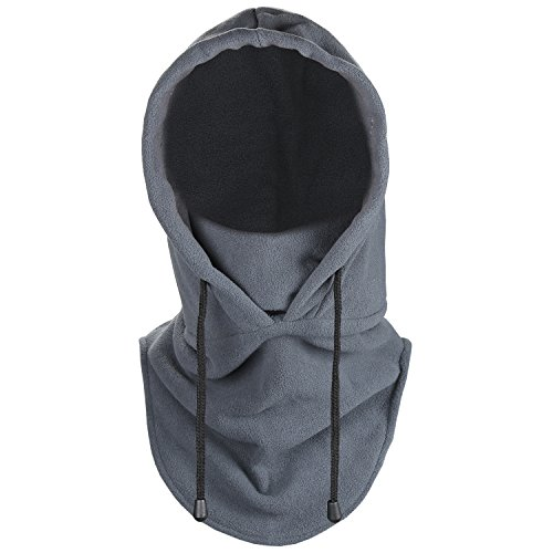 Fantastic Zone Men Women Balaclava Fleece Cold Weather Face and Neck Mask Tactical Heavyweight Balaclava Outdoor Sports Mask for Men & Women (Cold Weather Neck Fleece)