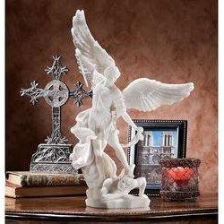 - St. Michael the Archangel Statue Sculpture - Ships Immediatly !!