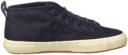 f Navy White Nylm 2754 Bleu Homme Baskets New Superga Hautes A10 Off Kp0y8q8f