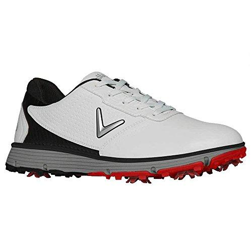 Callaway Men's Balboa TRX Golf Shoe White/Black 10 D US