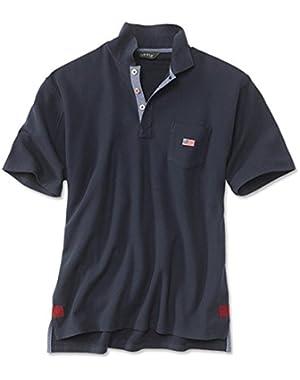 Men's American-flag Polo
