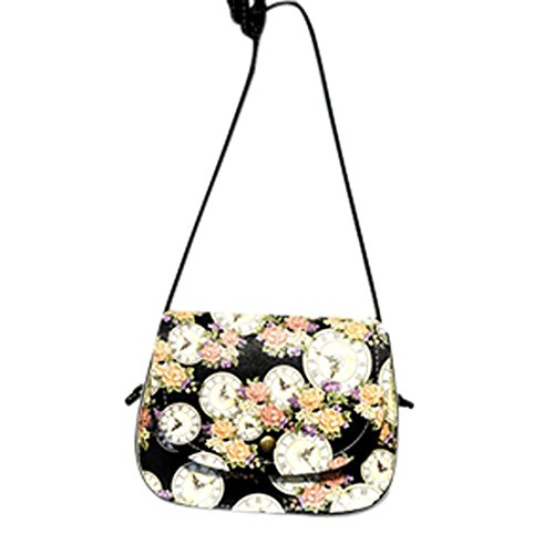 Clearance! ZOMUSA Women Fashion Handbag Shoulder Tote Purse Small Square Bag (C)