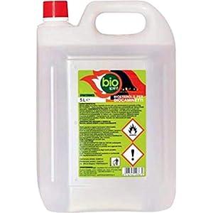 Bioetanolo combustibile stufe Bio Sprint 5 litri 99,9% inodore no fumo naturale no zolfo 8 spesavip