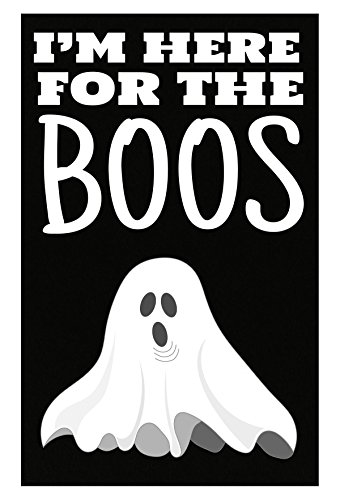 I'm Here For The Boos Ghost Halloween Poster