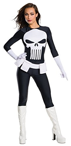 Marvel Women's Universe Punisher, Multi, Medium (Female Marvel Superhero Costumes)