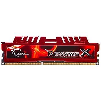 GSKILL Ripjaws X F3-17000CL11D-8GBXL 8GB (2x4GB) DDR3-2133Mhz Desktop RAM Memory