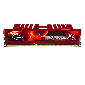G.Skill F3-17000CL11D-8GBXL - Memoria RAM (8 GB, DDR3, PC/server, 1.5 V, 40 mm), Rojo