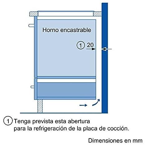 Balay 3EB900LR VITROCERAMICA 2 ZONAS DE INDUCCION, 2200 W, Vidrio y cerámica, Negro