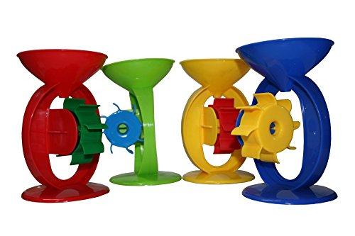 Sand-/Wassermühle mit 1 Rad, Strandspielzeug, Sandkastenspielzeug, für Kinder...