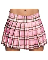 Amazon.com: Hot Pink Plaid Skirt. Sexy Schoolgirl Skirt, Plus Size ...