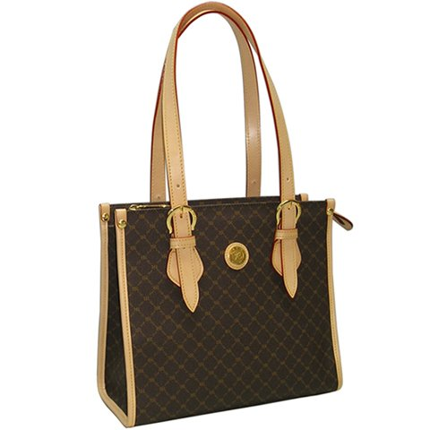Rioni Shoulder Tote - Brown by Rioni