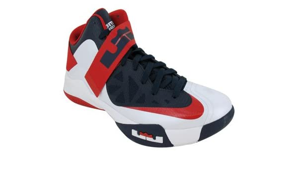 sale retailer f68b2 ebdb1 Amazon.com   Nike Zoom Soldier VI USA (525015-101) (9.5 D(M) US)    Basketball