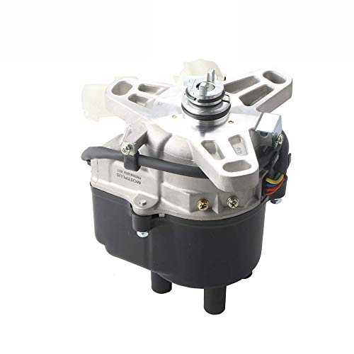 MOSTPLUS New Ignition Distributor for 88-91 HONDA CIVIC 1.6L PRELUDE 2.0L TD02U ()