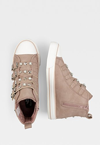 Baskets Perla blush Slip Sneaker Decorated 179 on Femme Fritzi Preußen Aus Rose Buckles aYT44O
